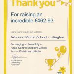 Marie Curie Fundraiser Success!