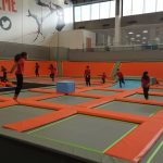 Sobell Centre trip to the new trampoline extreme park.