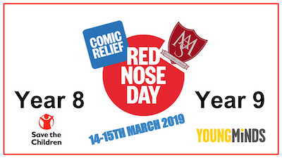 Year 8 Red Nose Day Charity Walk